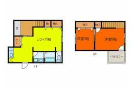東大阪市本町周辺のテラスハウス